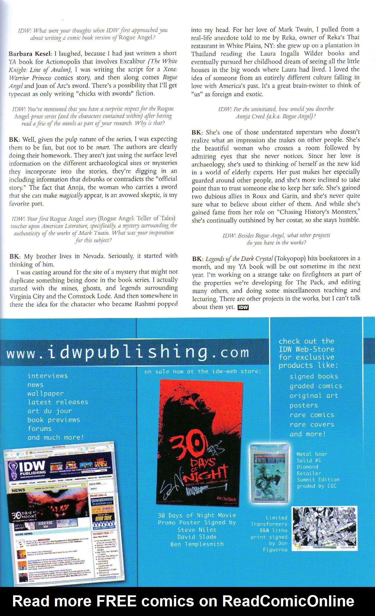 Read online Dominatrix comic -  Issue #6 - 27