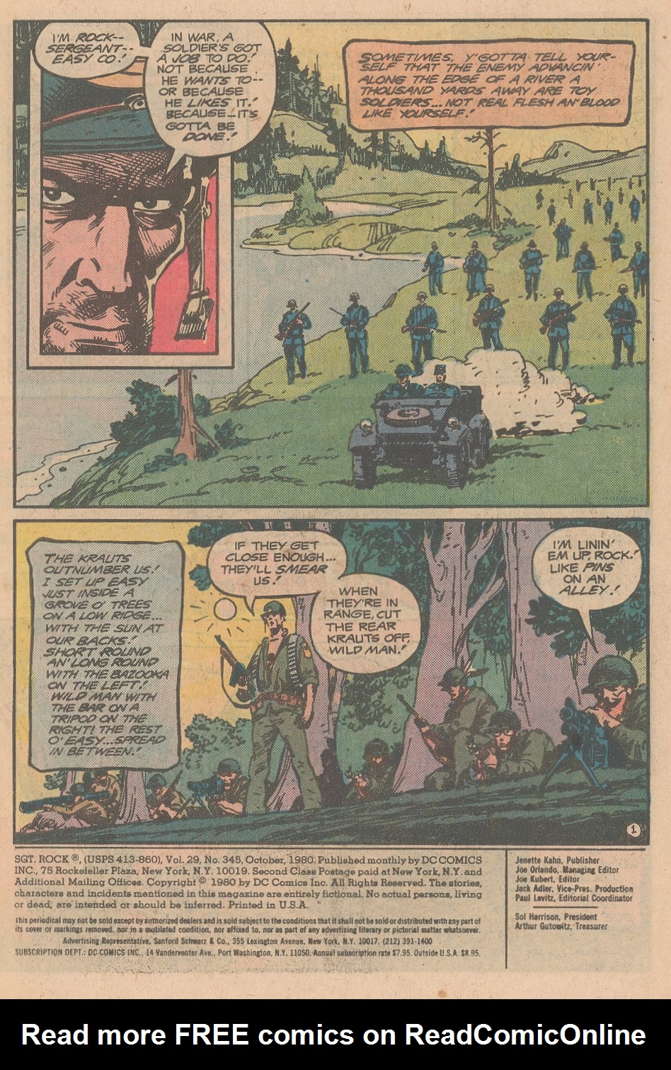 Read online Sgt. Rock comic -  Issue #345 - 2