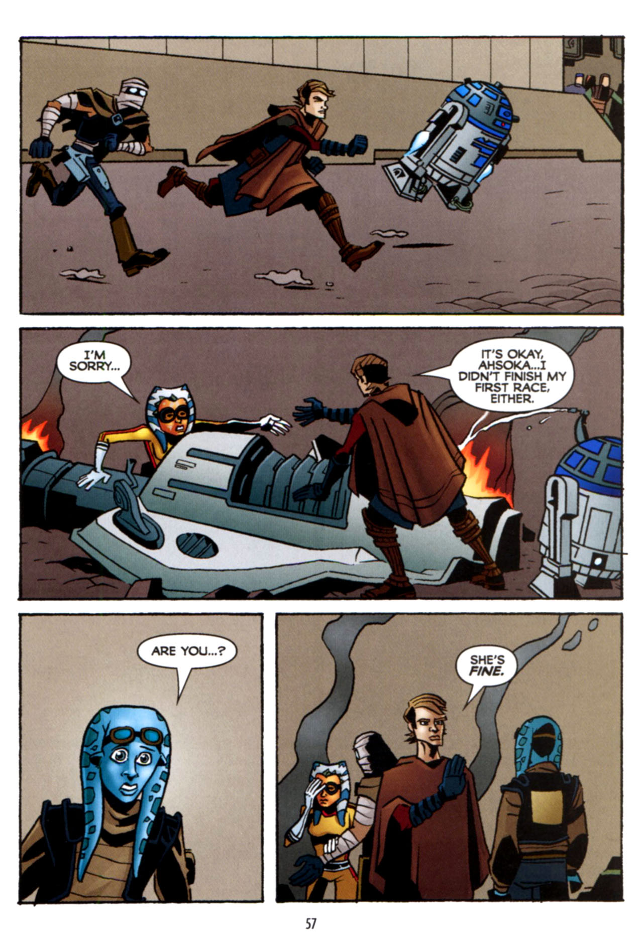 Read online Star Wars: The Clone Wars - Crash Course comic -  Issue # Full - 58