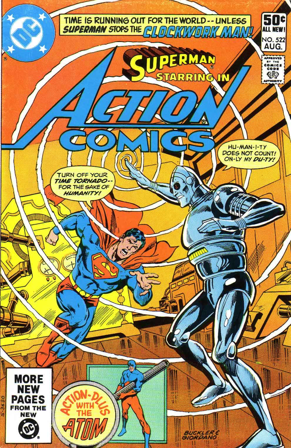 Read online Action Comics (1938) comic -  Issue #522 - 1