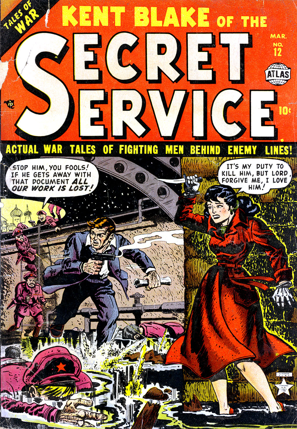 Kent Blake of the Secret Service issue 12 - Page 1