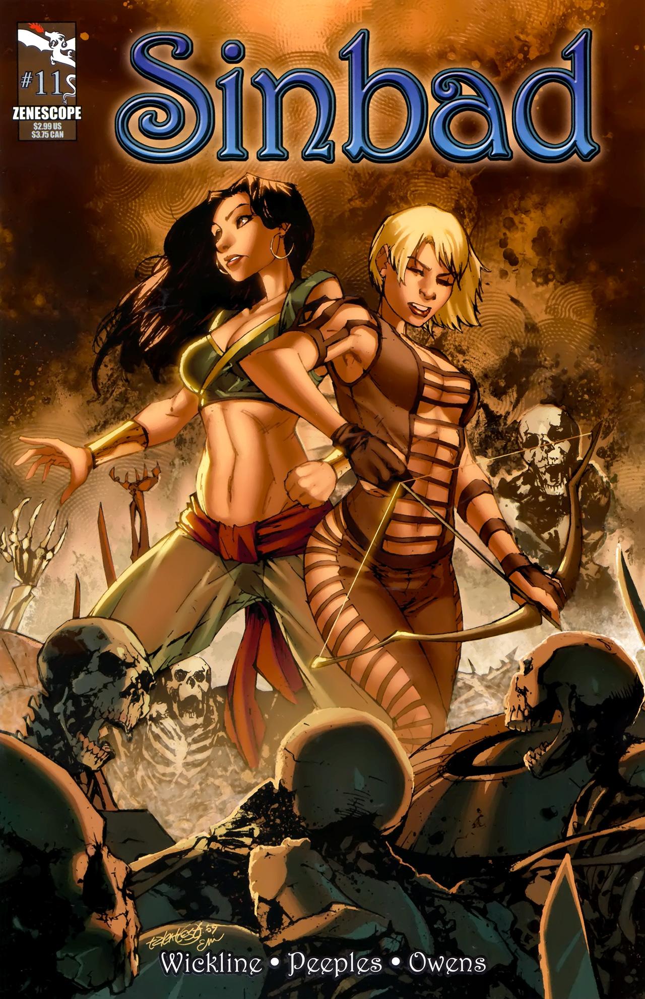 1001 Arabian Nights: The Adventures of Sinbad 11 Page 1