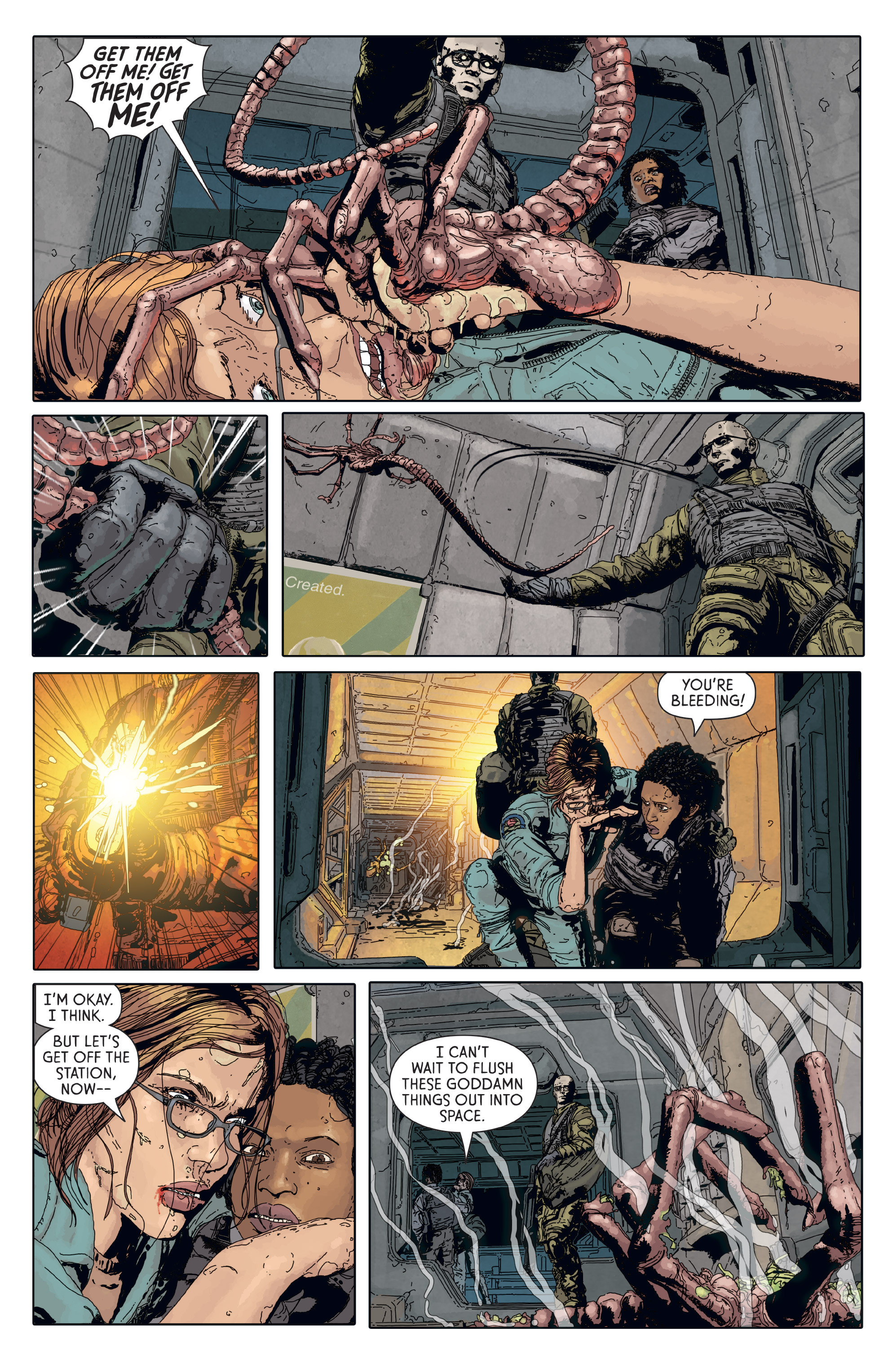 Read online Aliens: Defiance comic -  Issue #6 - 15