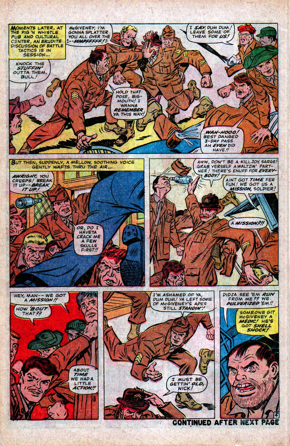 Read online Sgt. Fury comic -  Issue #21 - 6