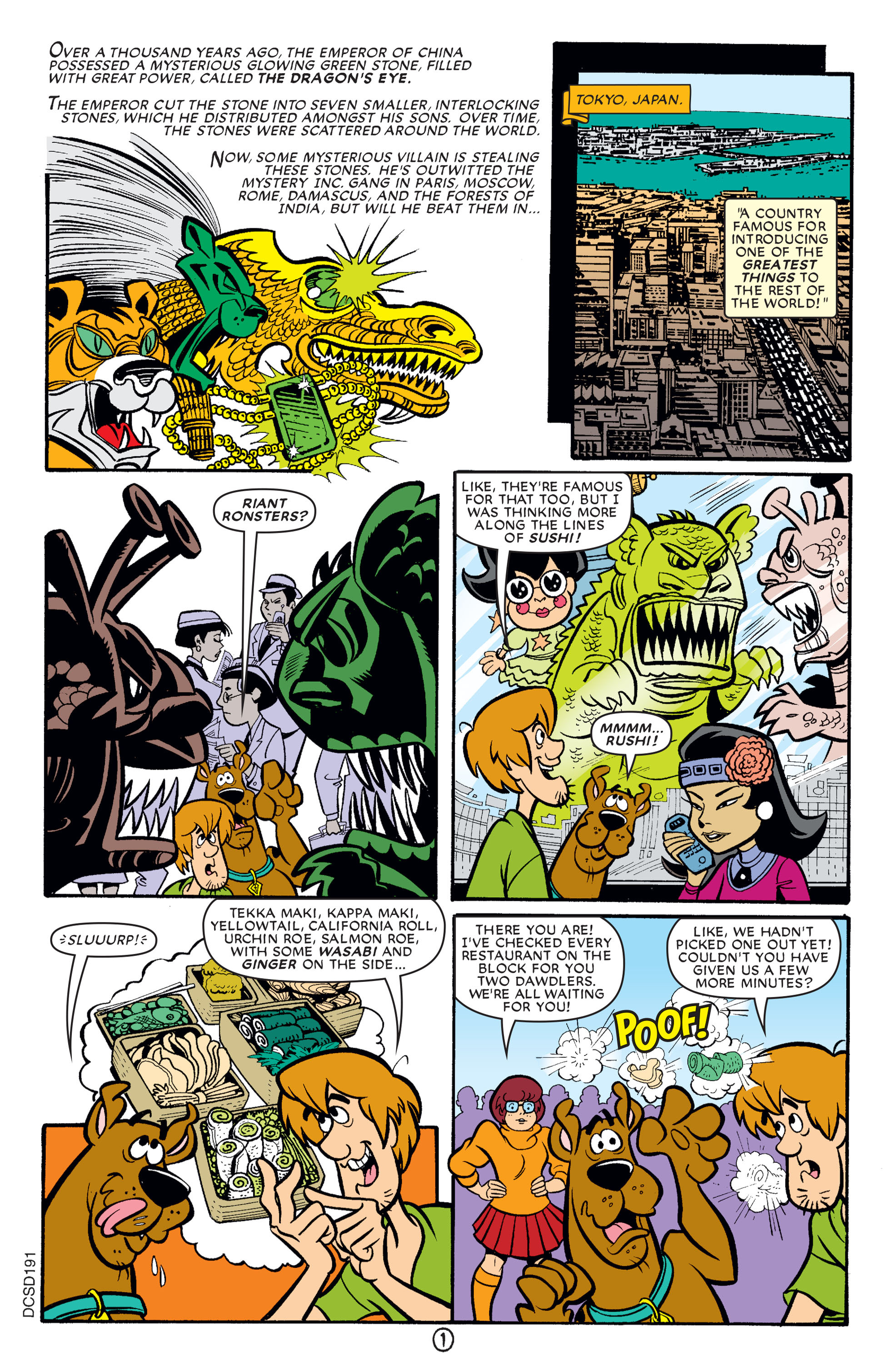 Read online Scooby-Doo (1997) comic -  Issue #64 - 12