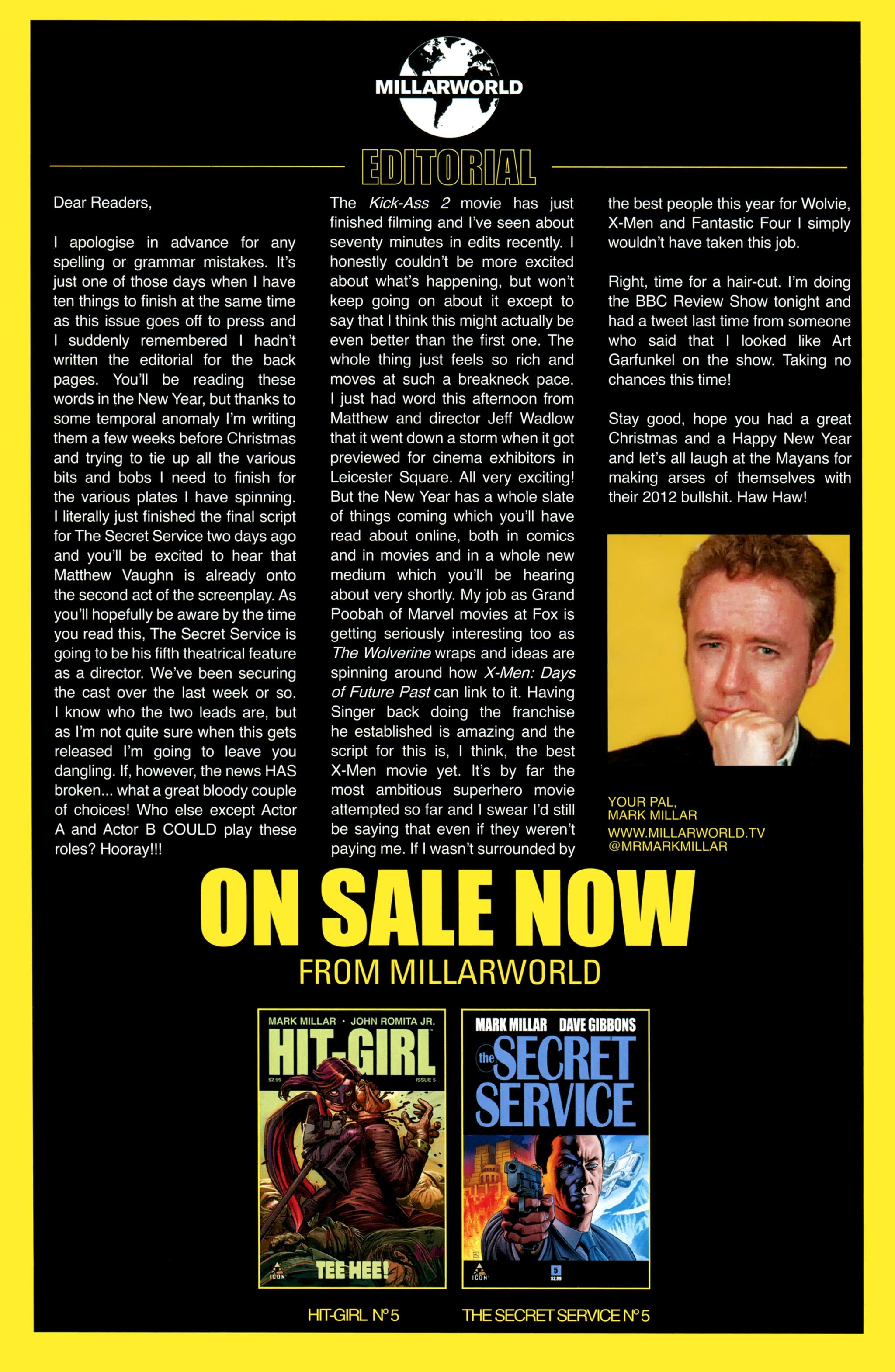 Read online Secret Service comic -  Issue #5 - 27