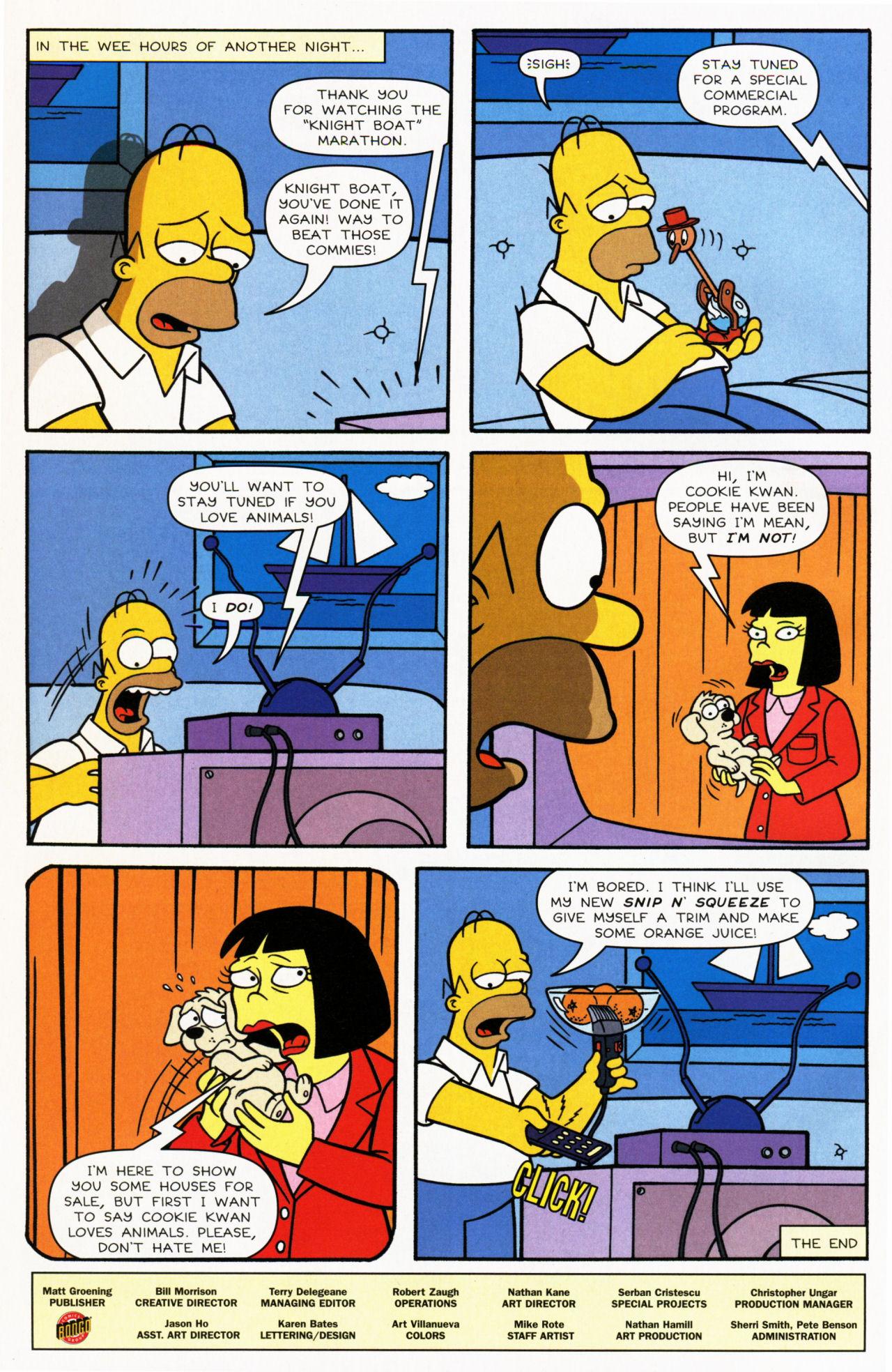 Read online Simpsons Comics comic -  Issue #139 - 26