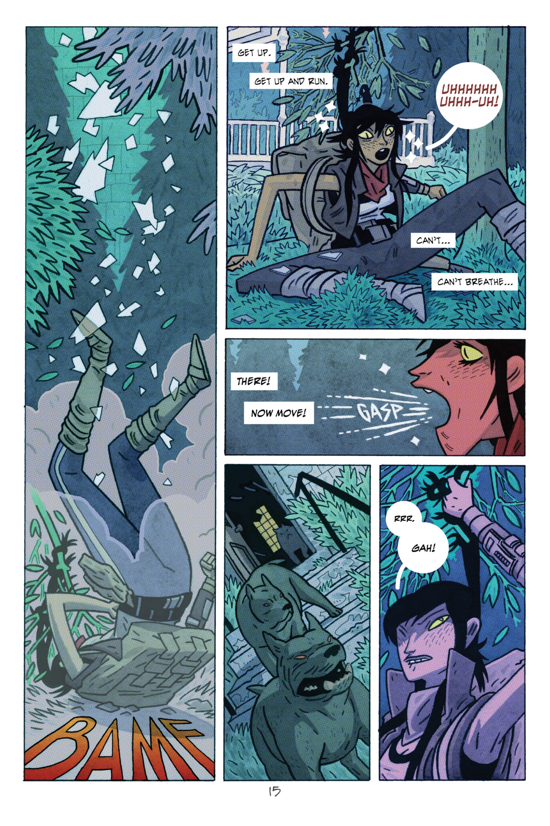 Read online ApocalyptiGirl: An Aria for the End Times comic -  Issue #ApocalyptiGirl: An Aria for the End Times Full - 23