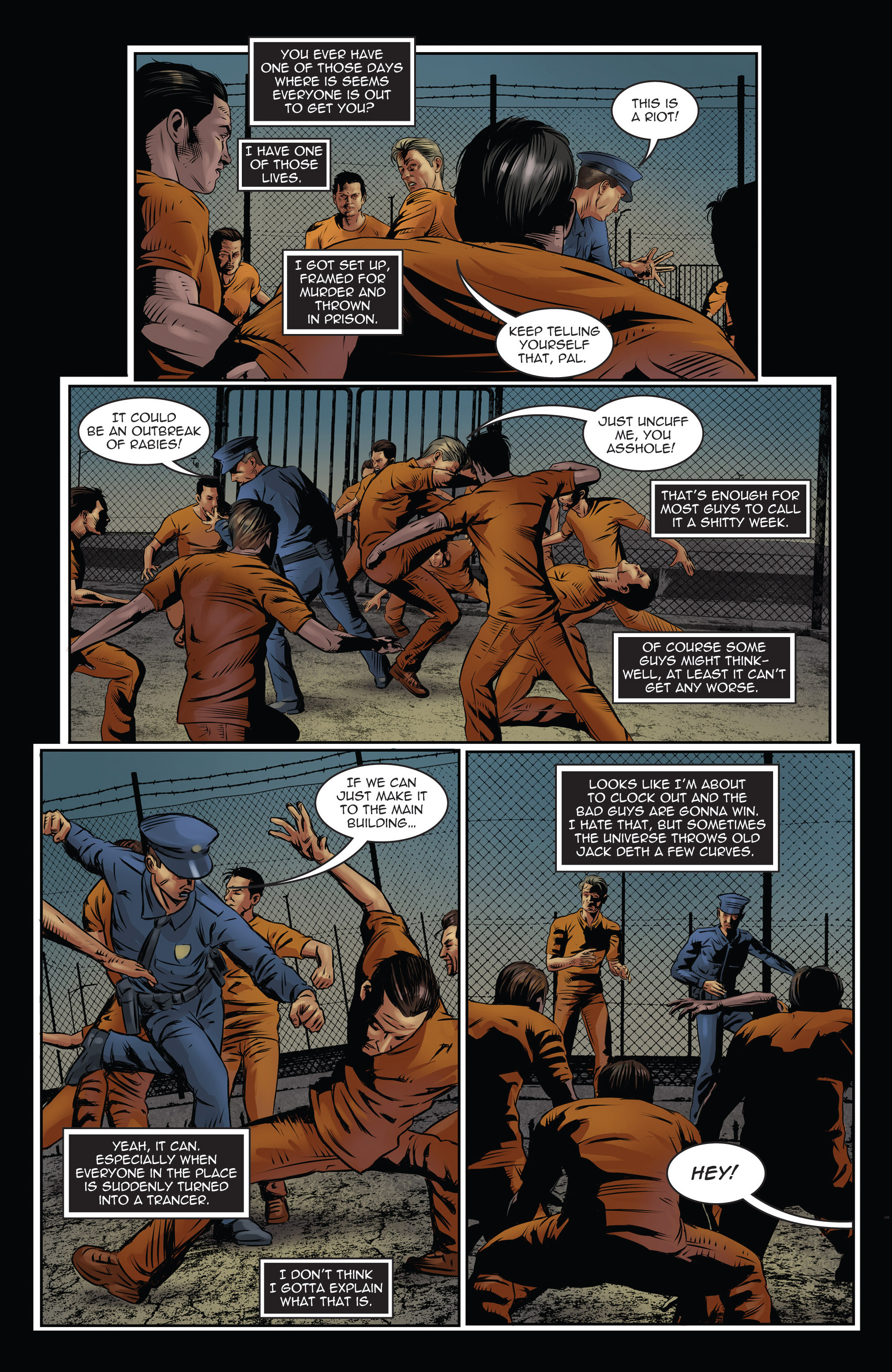 Read online Trancers comic -  Issue #3 - 3