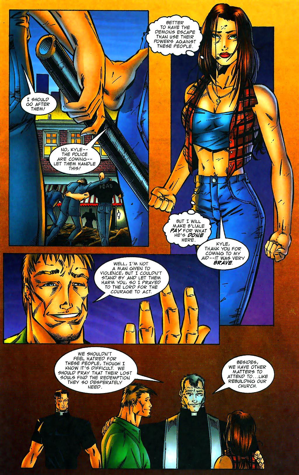 Read online Avengelyne (1996) comic -  Issue #1 - 12