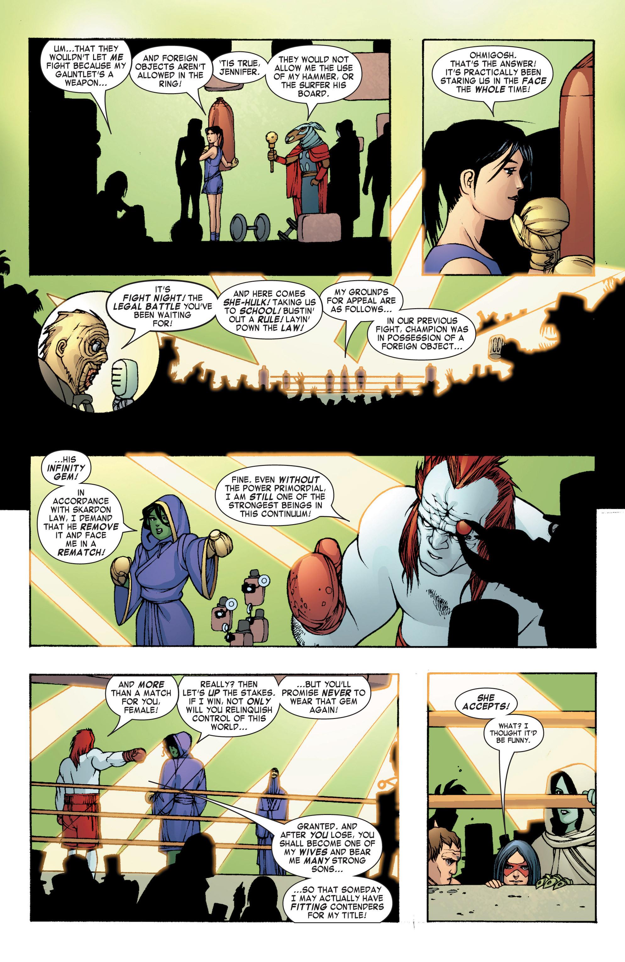 Read online She-Hulk (2004) comic -  Issue #8 - 20
