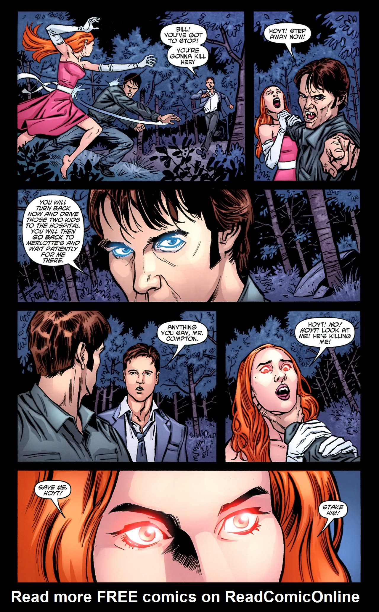Read online True Blood: Tainted Love comic -  Issue #3 - 17
