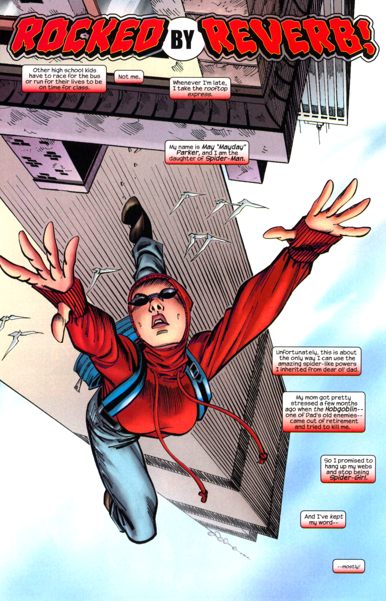 Read online Amazing Spider-Girl comic -  Issue #2 - 4