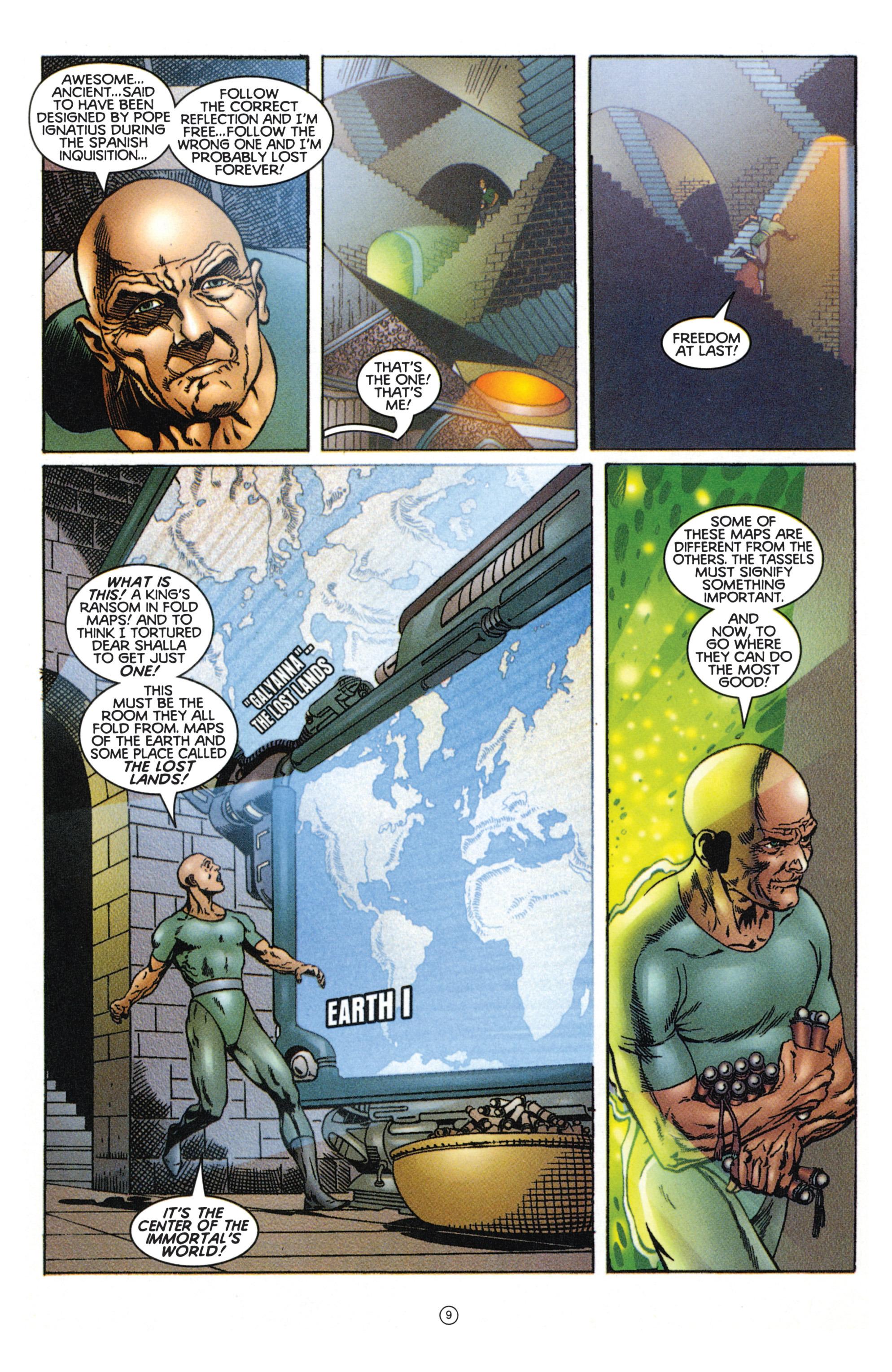 Read online Eternal Warriors comic -  Issue # Issue Mog - 8