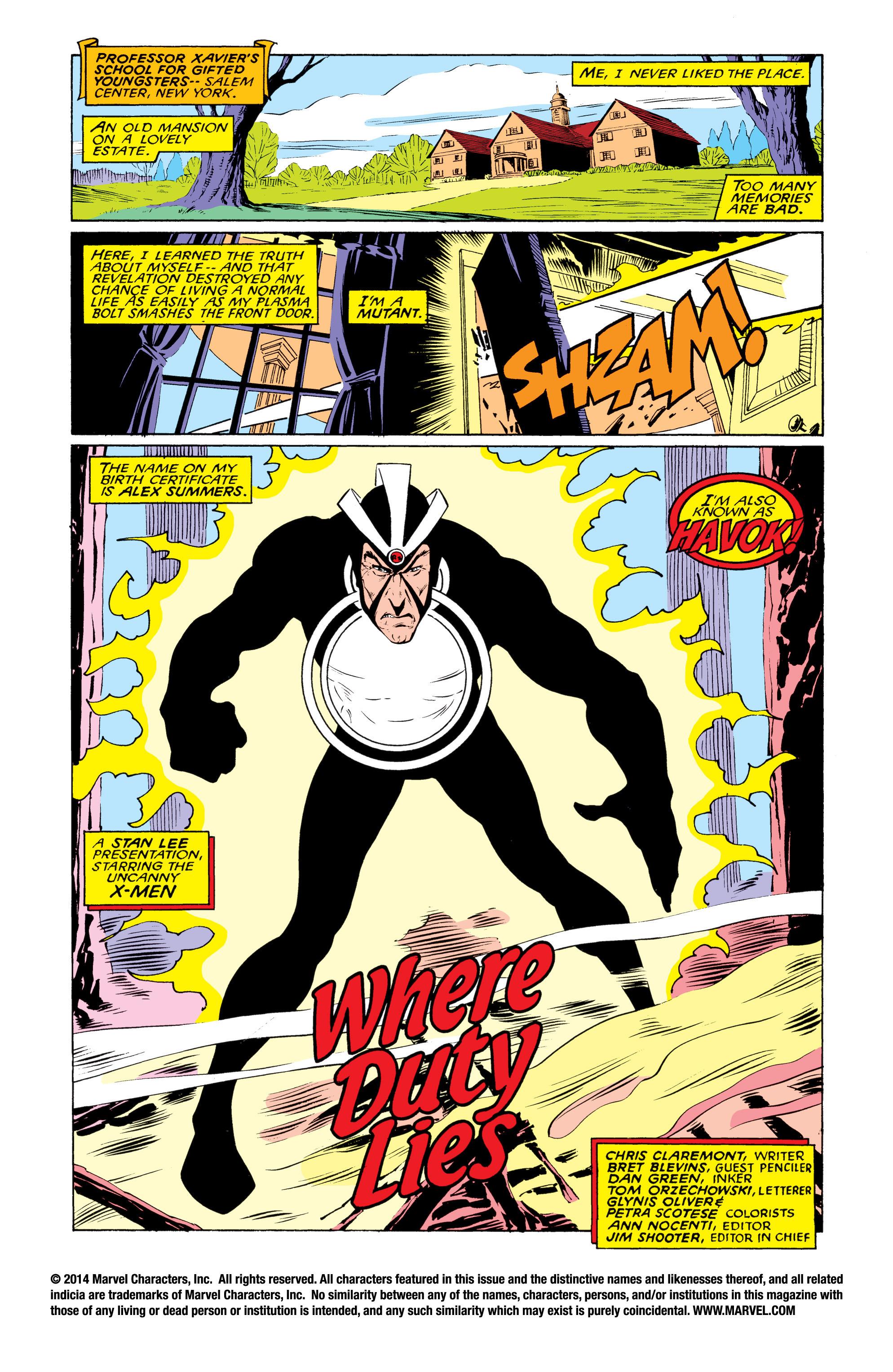 Read online Uncanny X-Men (1963) comic -  Issue #219 - 2