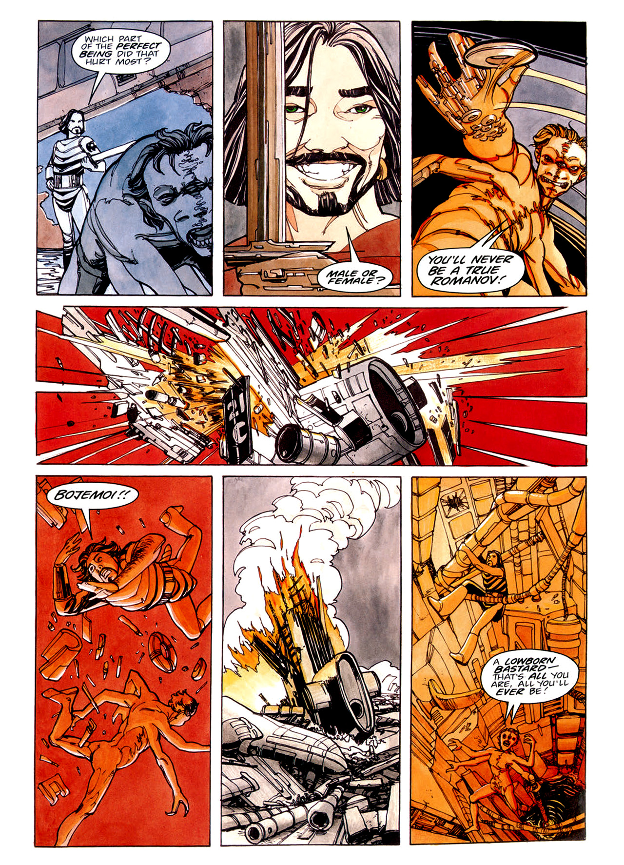 Read online Nikolai Dante comic -  Issue # TPB 1 - 42