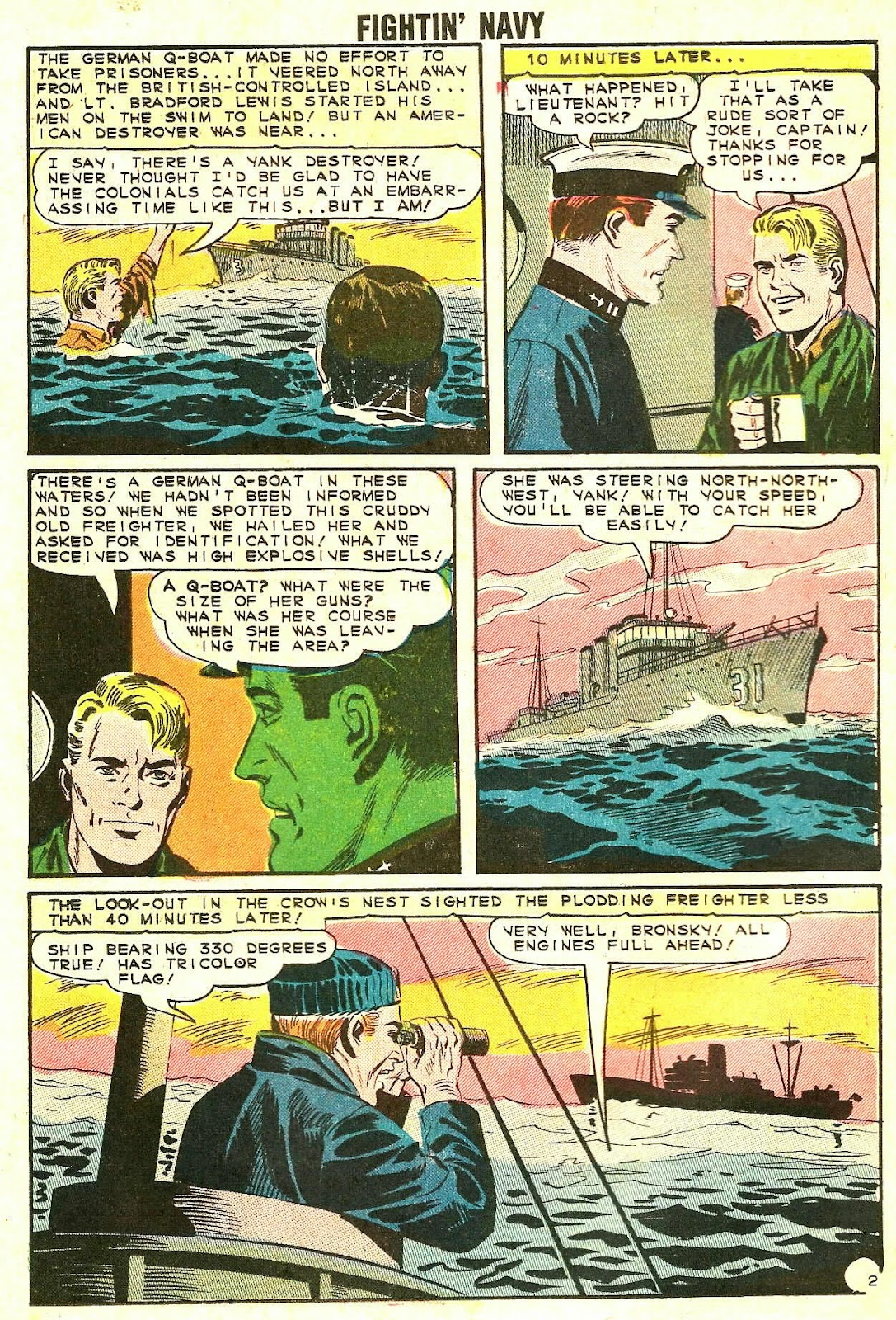 Read online Fightin' Navy comic -  Issue #118 - 26