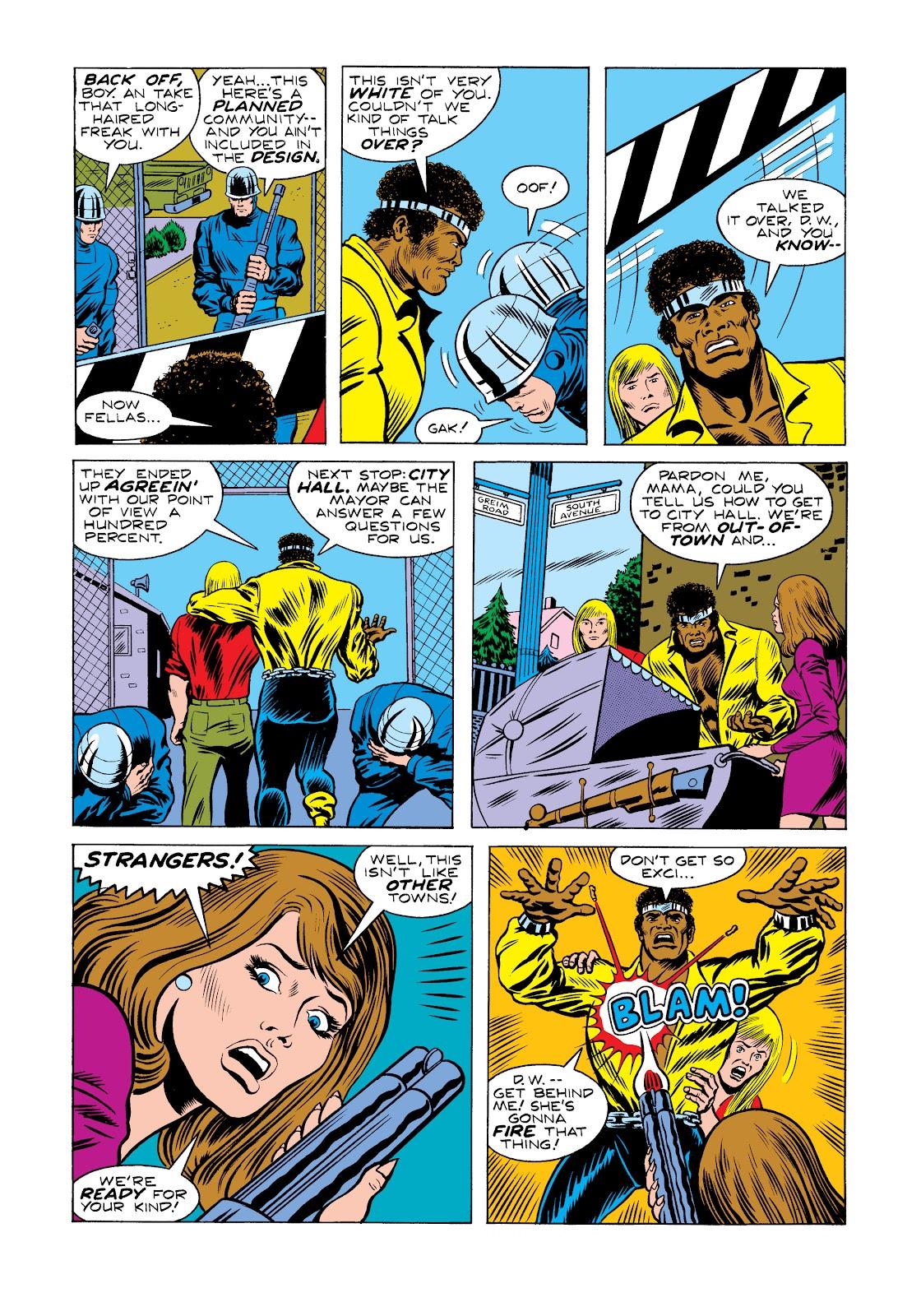 Read online Marvel Masterworks: Luke Cage, Power Man comic -  Issue # TPB 2 (Part 2) - 34