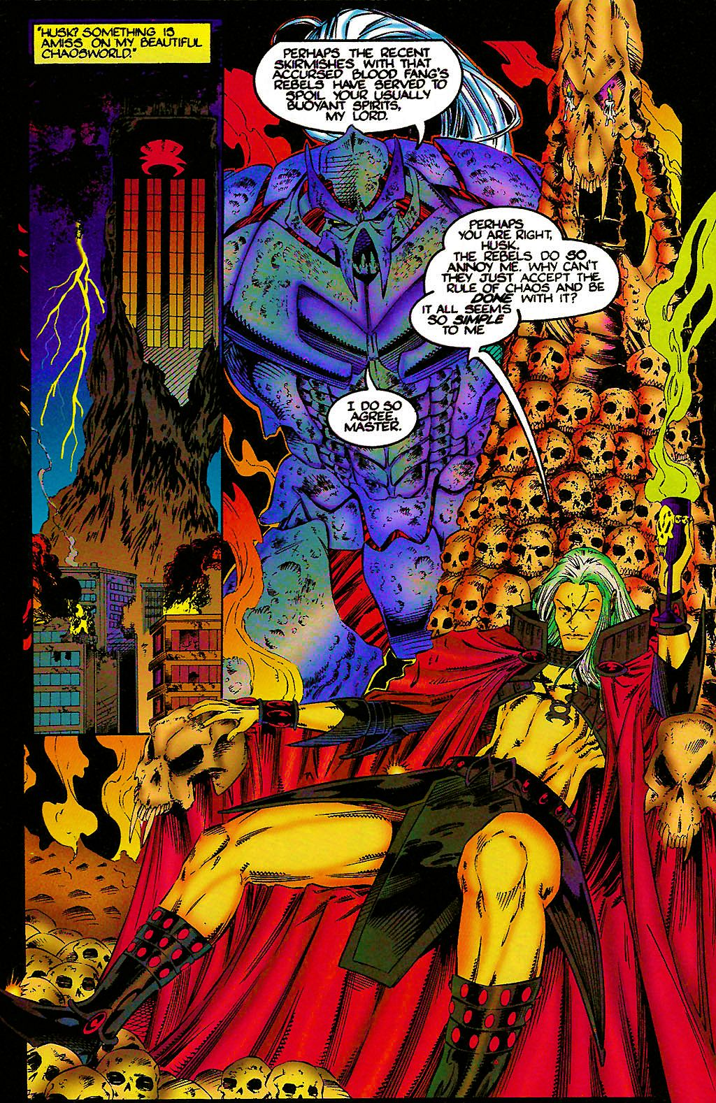 Read online Chains of Chaos comic -  Issue #1 - 24