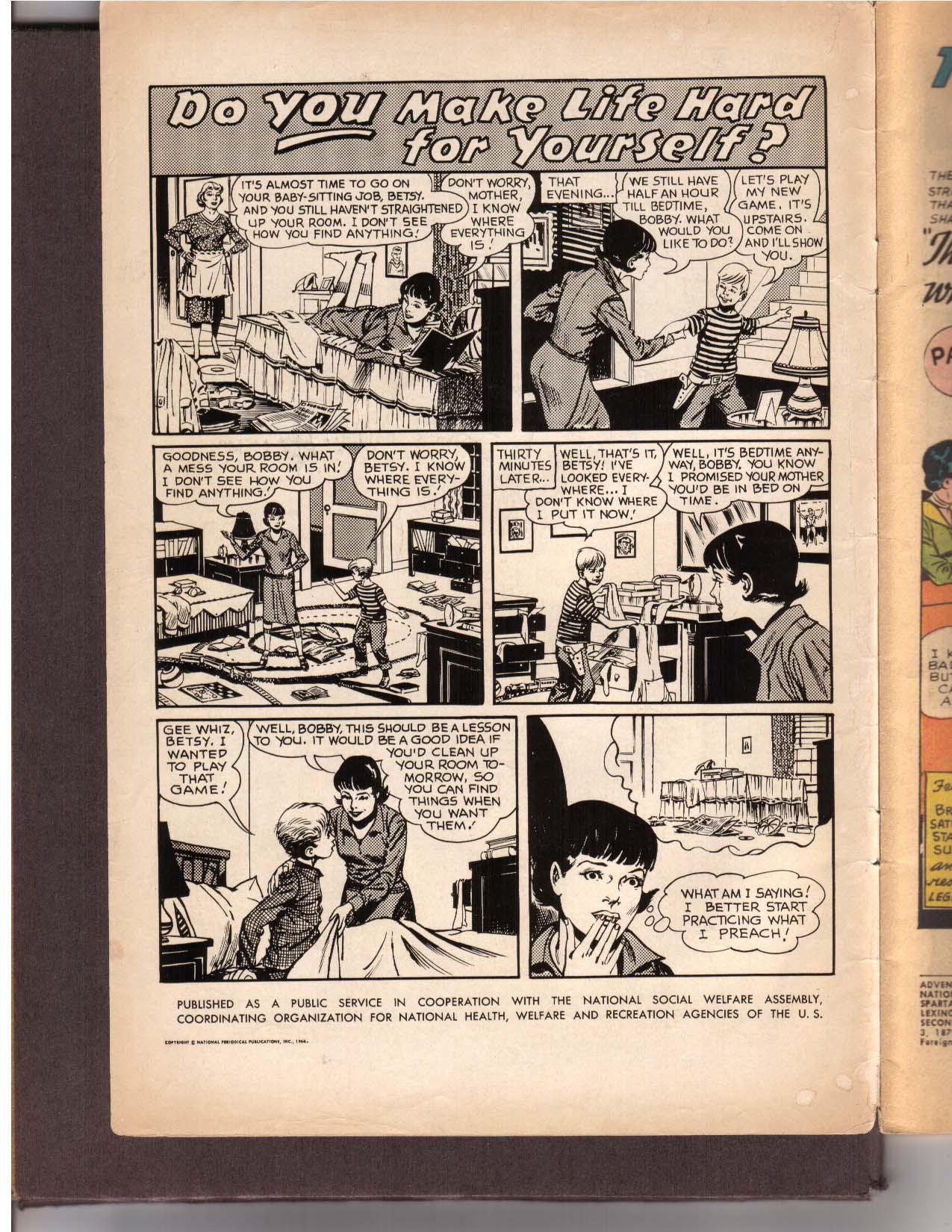 Read online Adventure Comics (1938) comic -  Issue #342 - 2