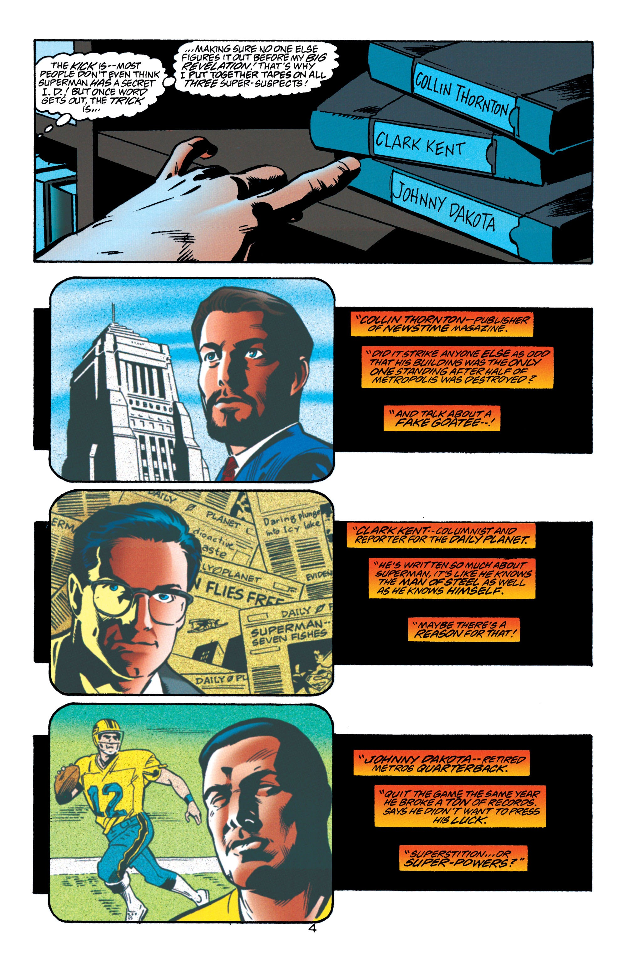Adventures of Superman (1987) issue 550 - Page 5
