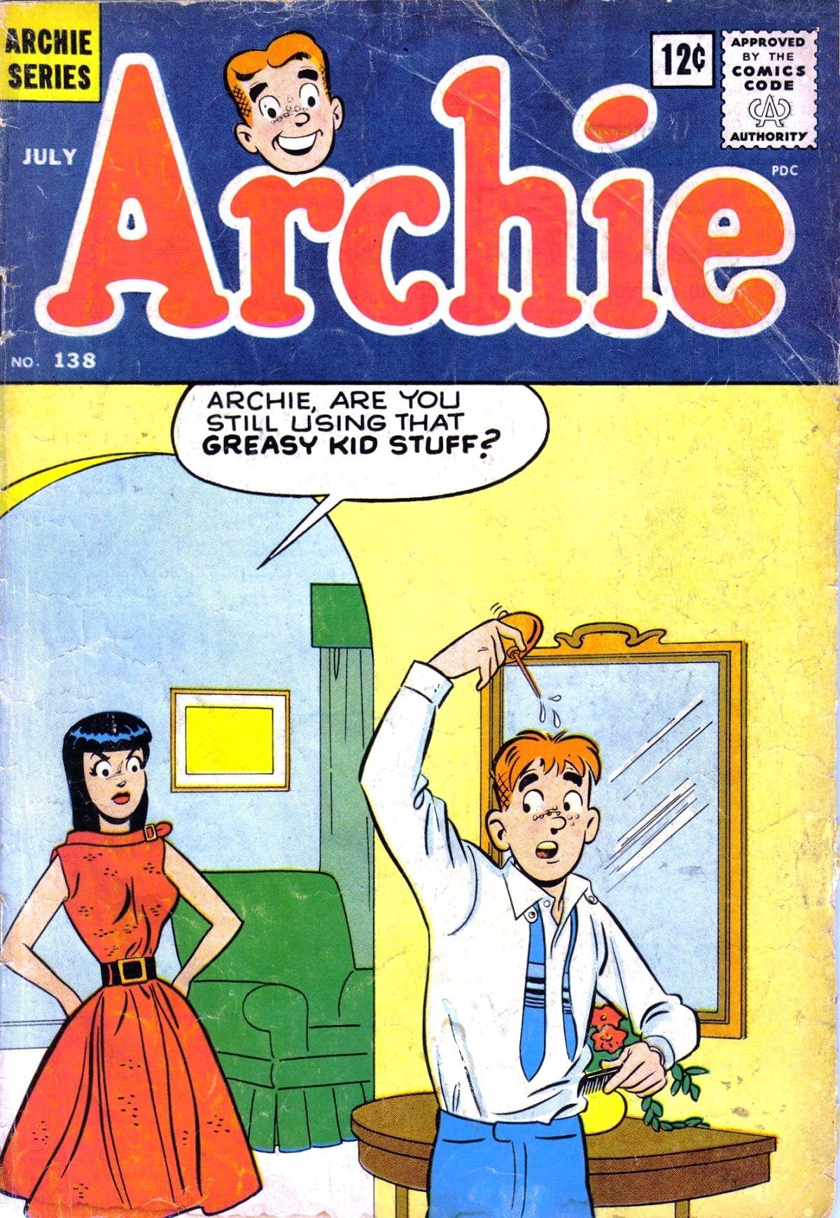 Read online Archie (1960) comic -  Issue #138 - 1