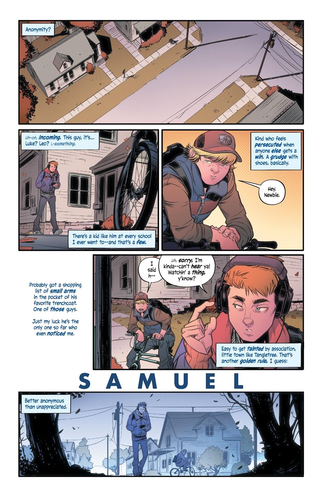 Read online Alienated comic -  Issue #1 - 5
