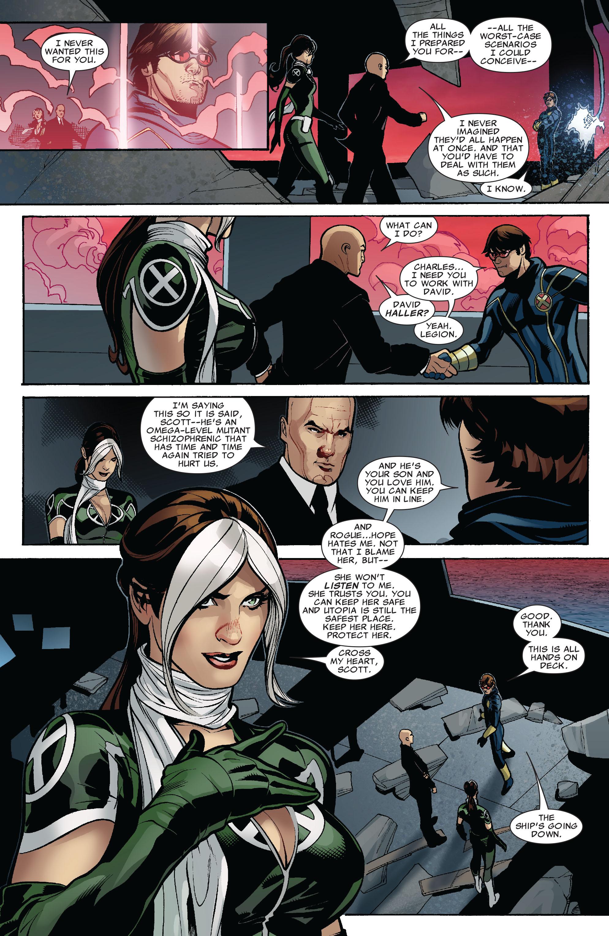 Read online Uncanny X-Men (1963) comic -  Issue #525 - 21
