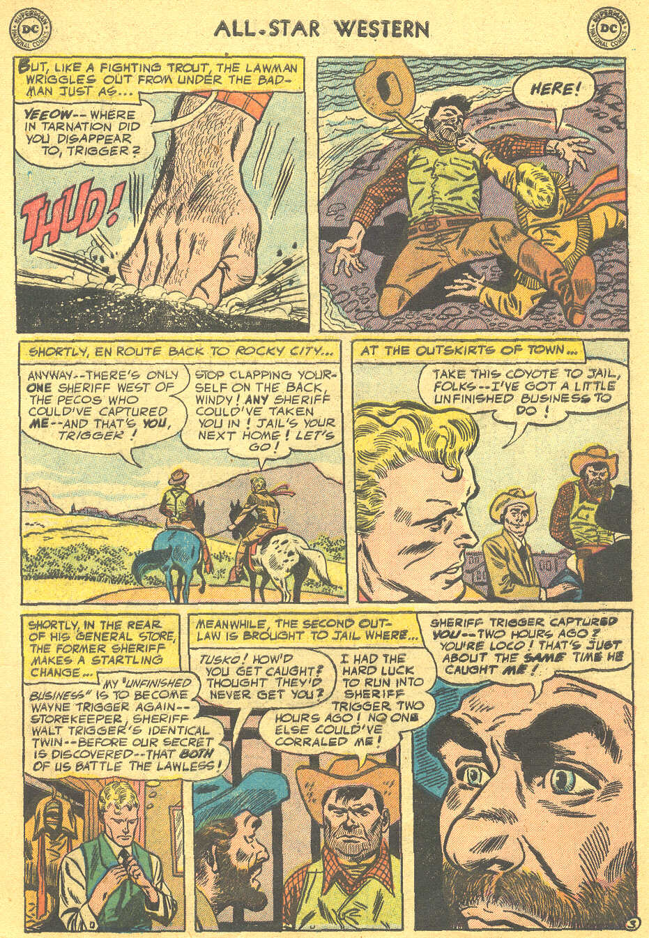 Read online All-Star Western (1951) comic -  Issue #88 - 5