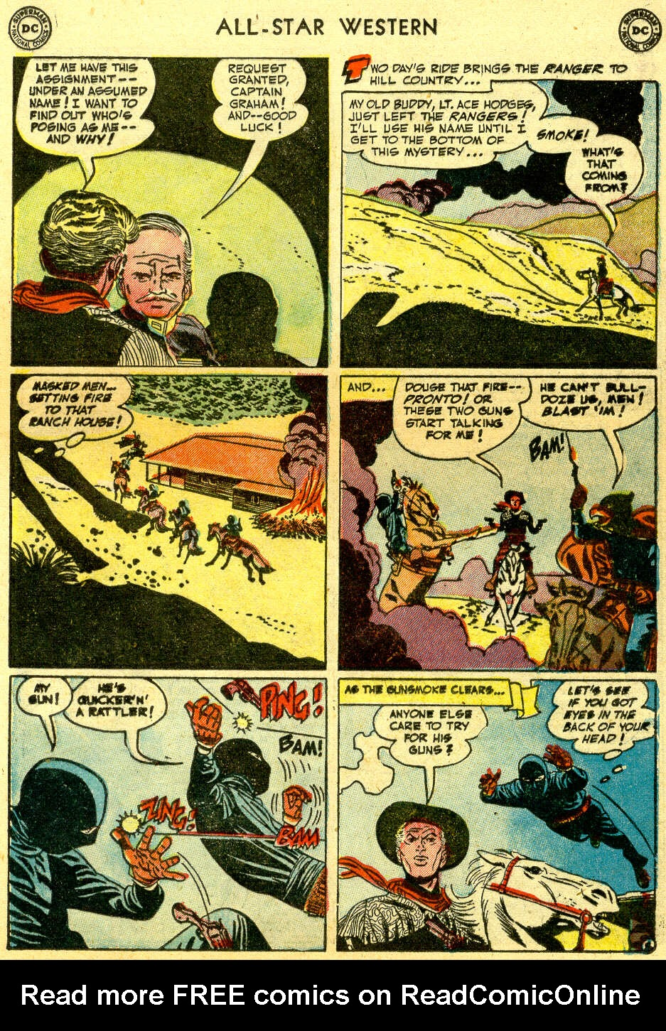 Read online All-Star Western (1951) comic -  Issue #64 - 13