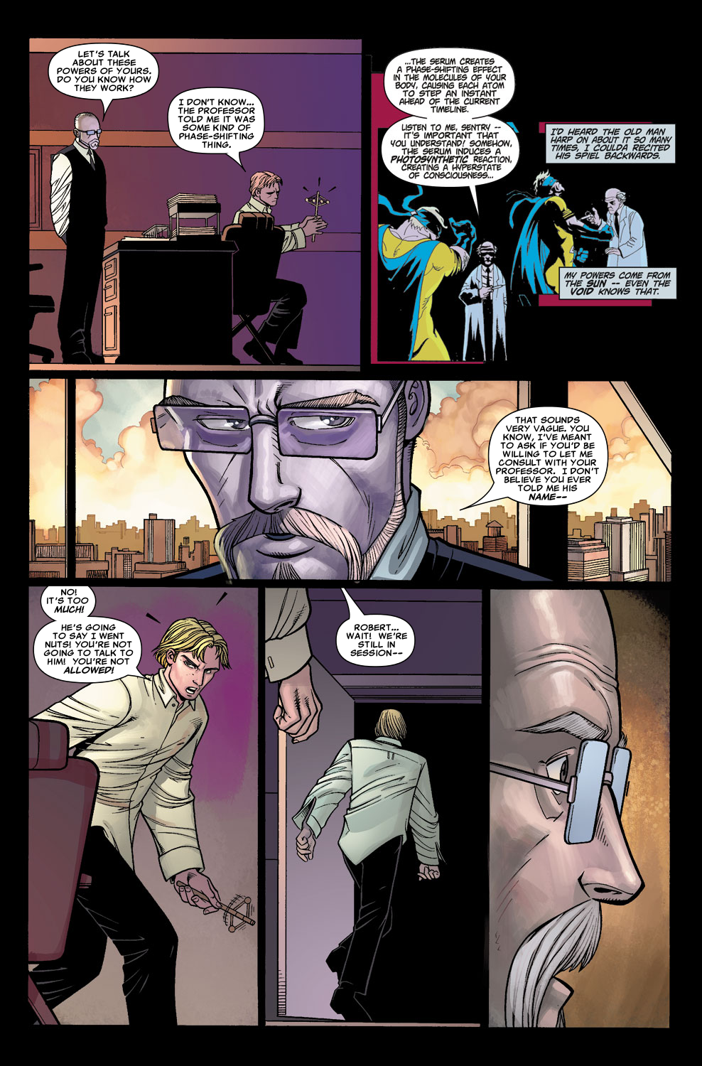 Read online Sentry (2006) comic -  Issue #5 - 9