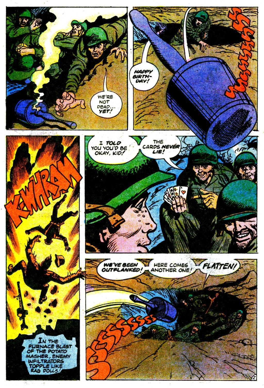 Read online Sgt. Rock comic -  Issue #313 - 25