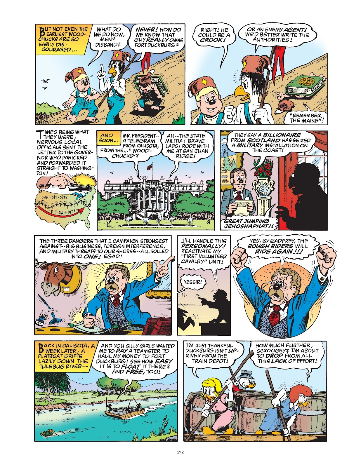 Read online The Complete Life and Times of Scrooge McDuck comic -  Issue # TPB 1 (Part 2) - 68