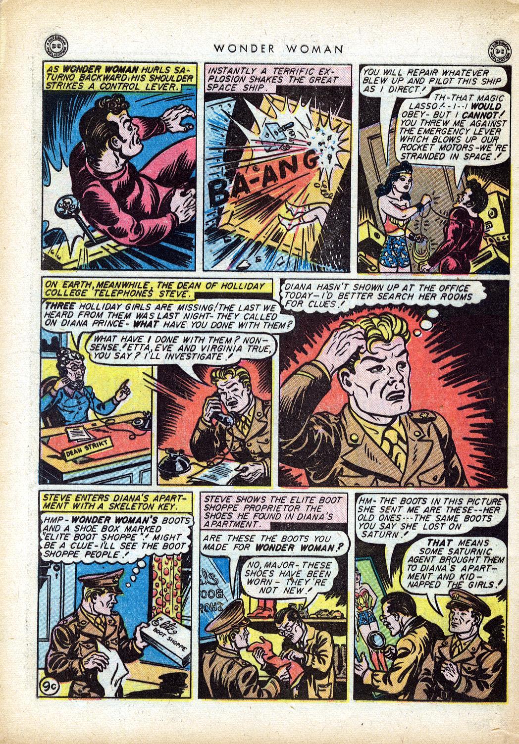 Read online Wonder Woman (1942) comic -  Issue #10 - 47