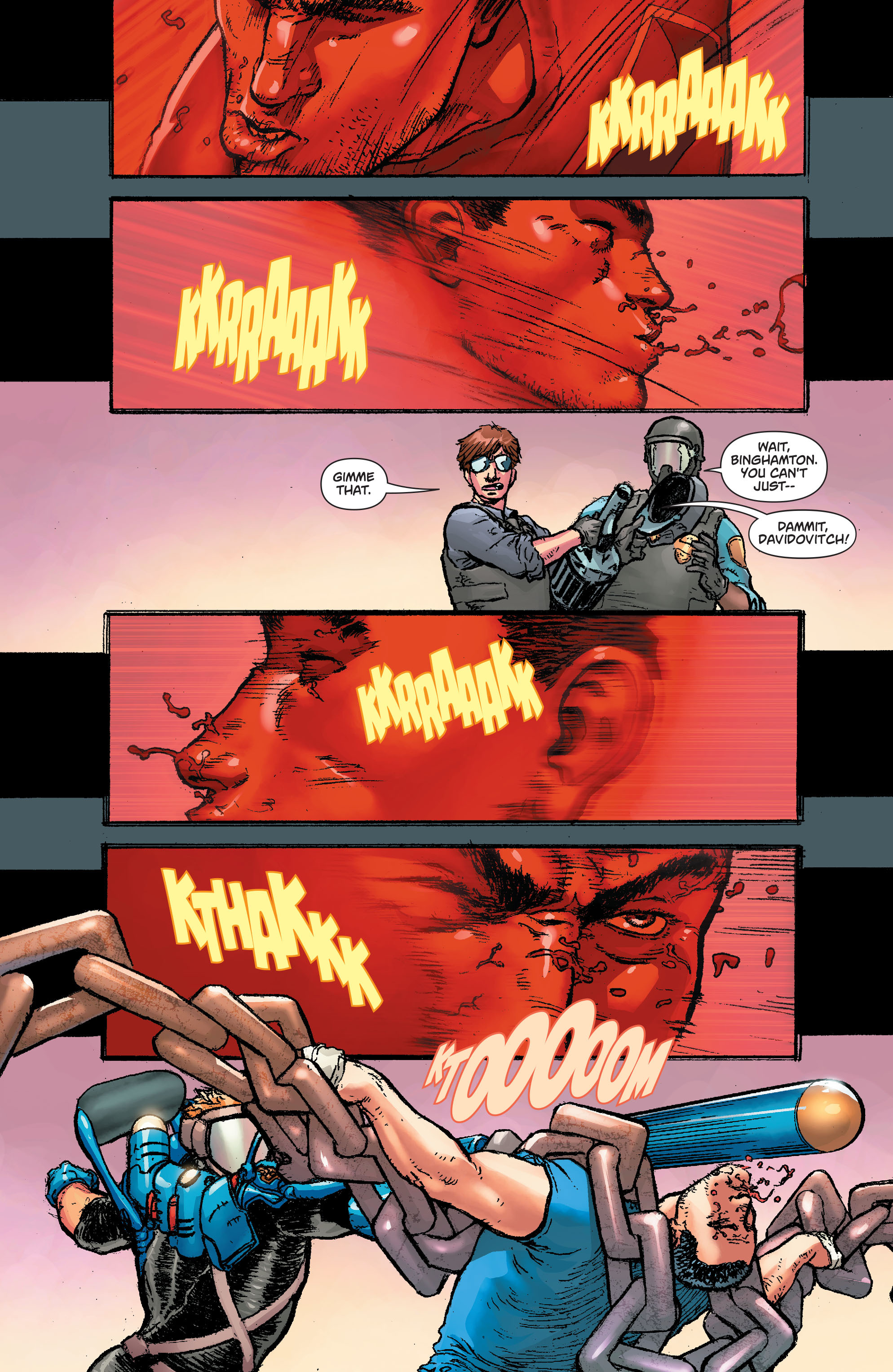 Read online Action Comics (2011) comic -  Issue #42 - 21