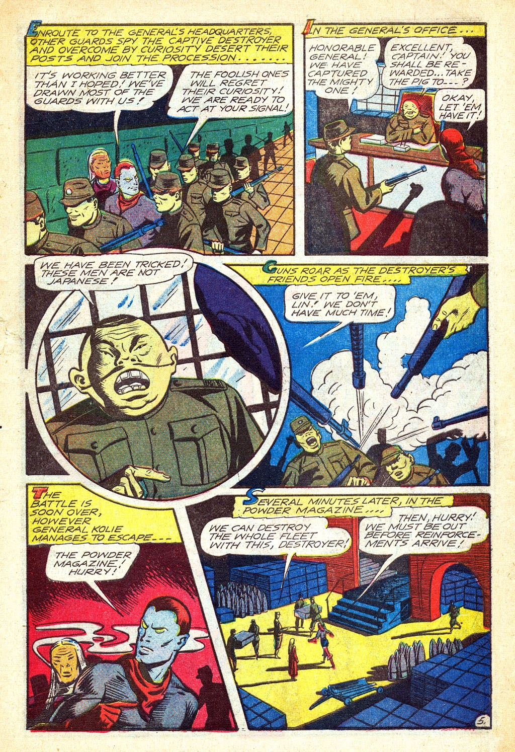 Read online Mystic Comics (1944) comic -  Issue #3 - 31