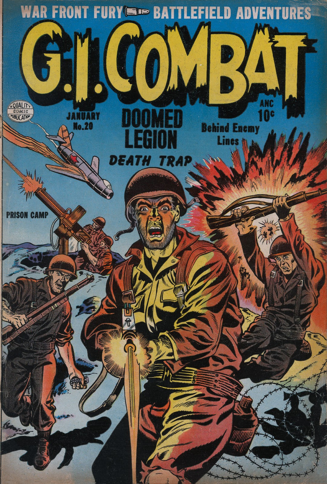 G.I. Combat (1952) issue 20 - Page 1