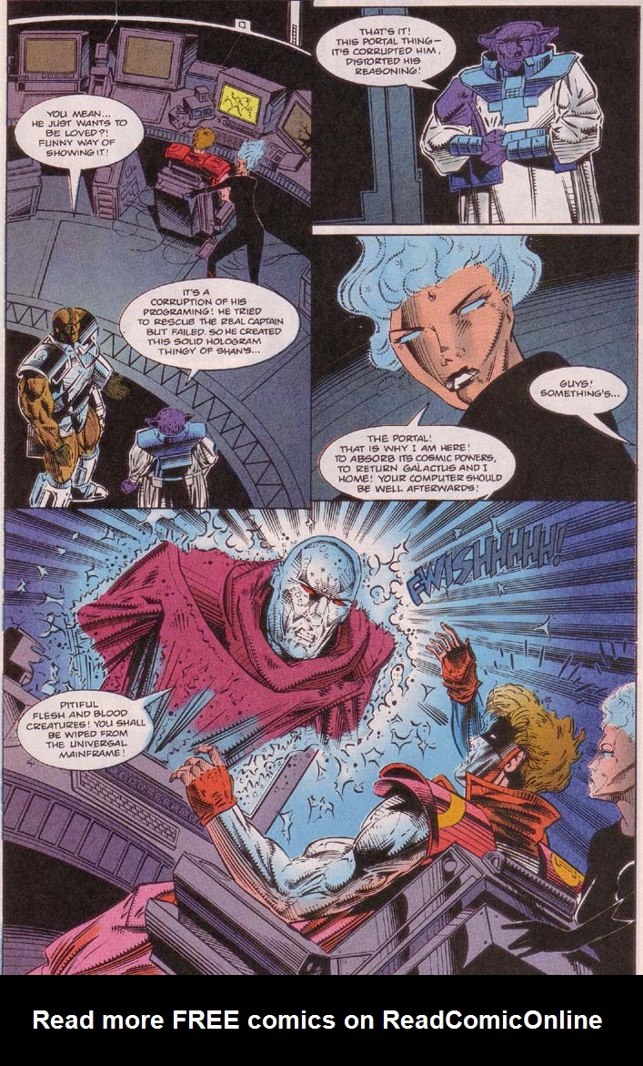 Read online Cyberspace 3000 comic -  Issue #5 - 14