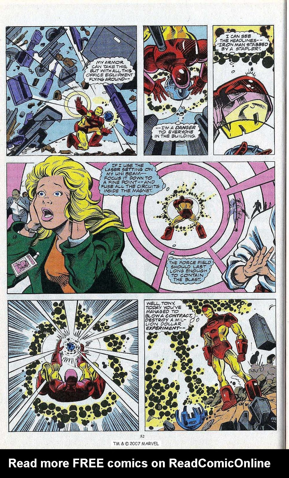 Iron Man Annual issue 13 - Page 54