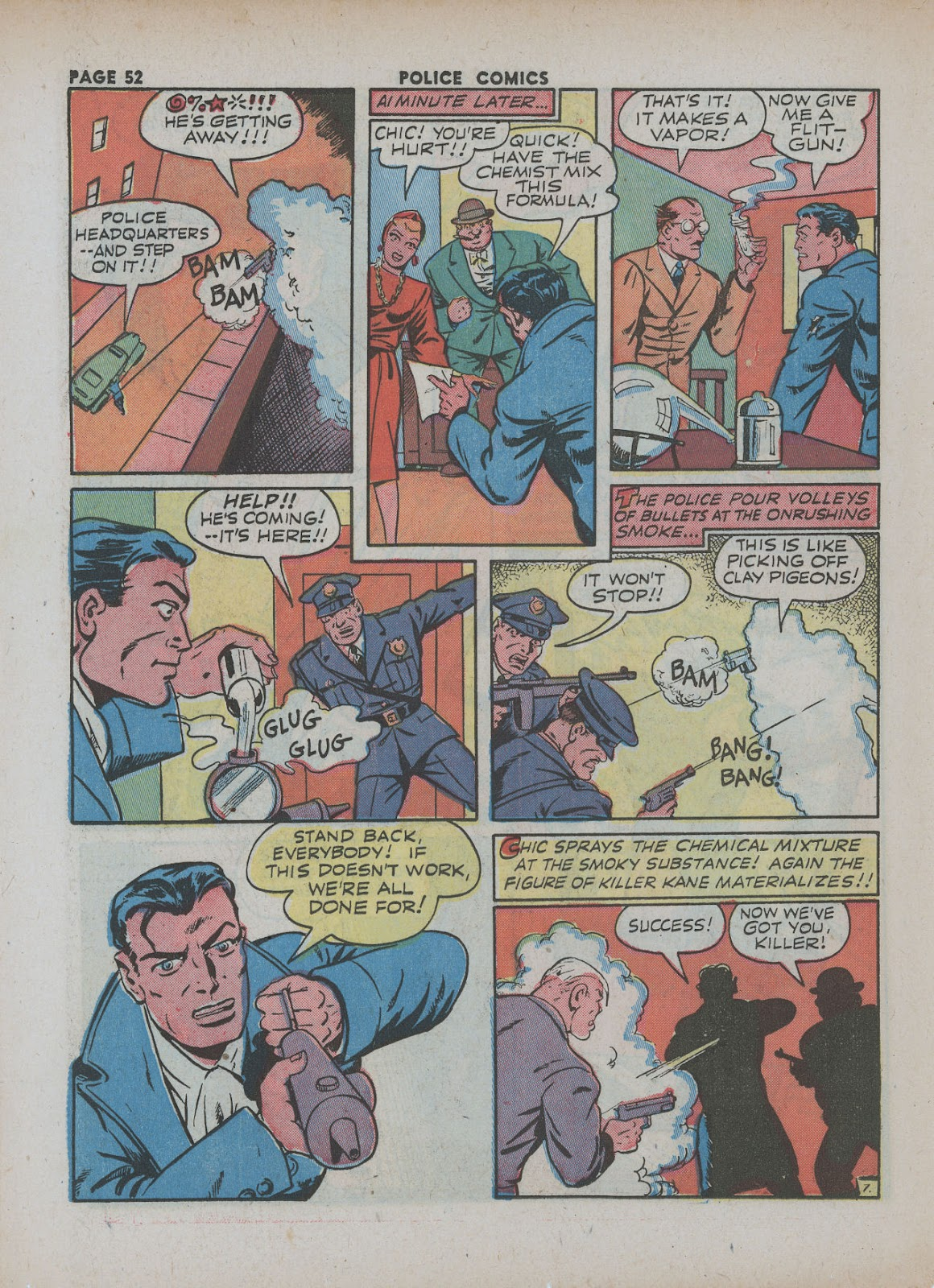 Police Comics issue 18 - Page 54