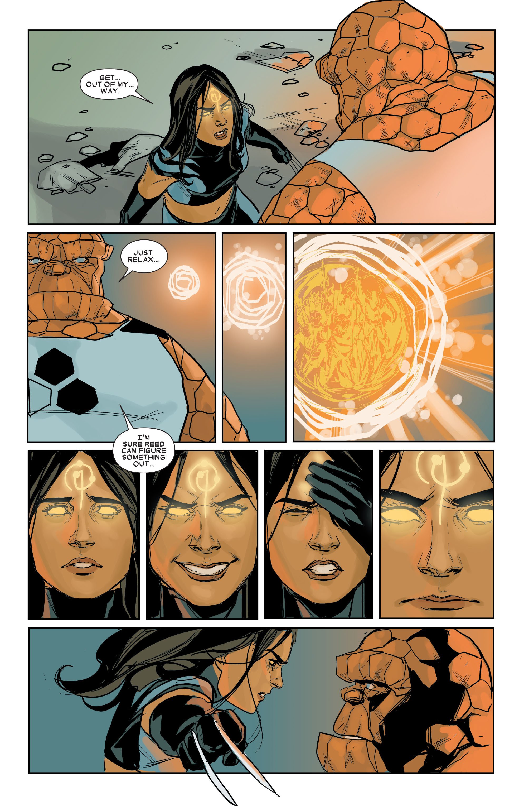 Read online X-23 (2010) comic -  Issue #16 - 8