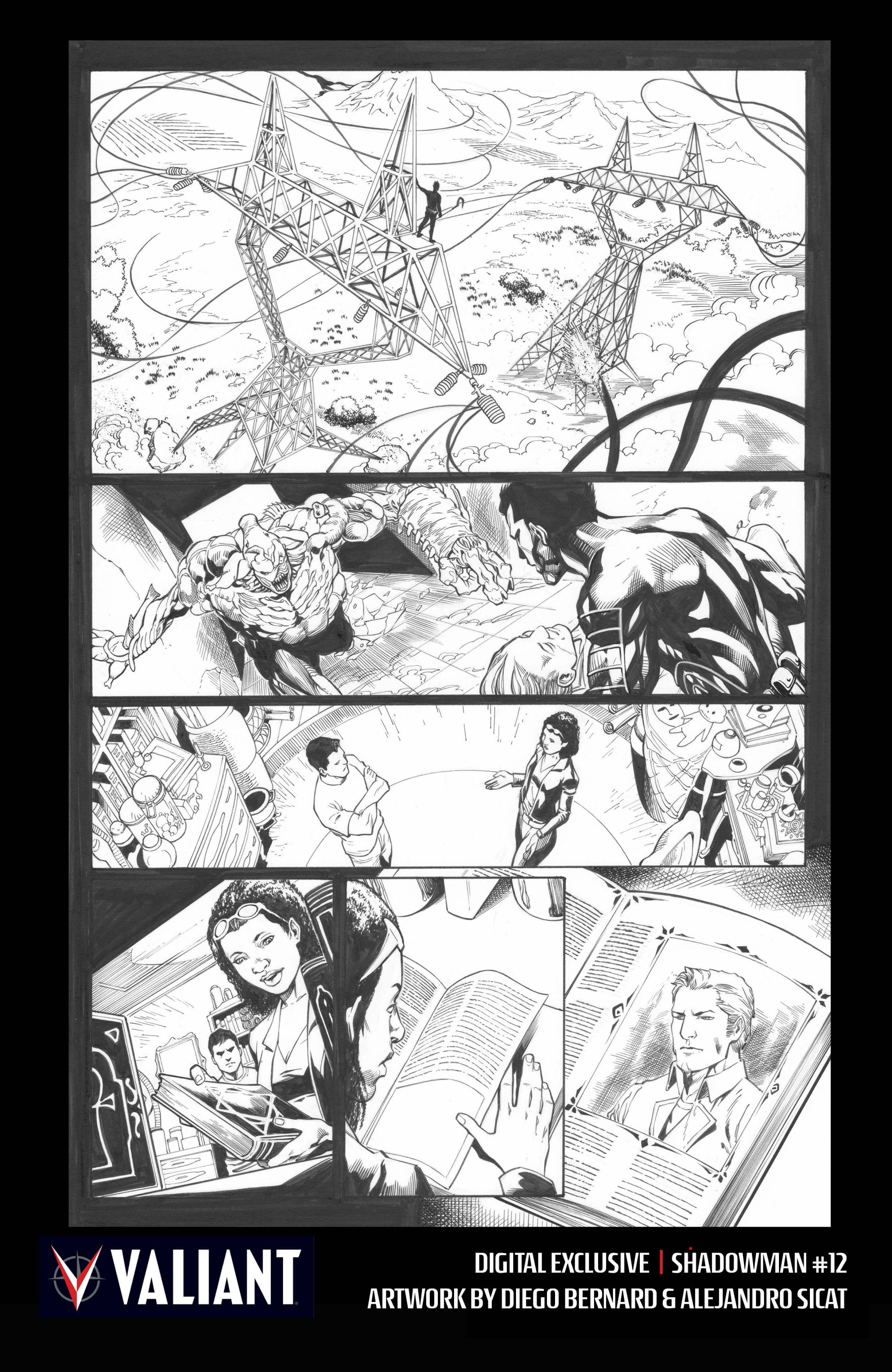 Read online Shadowman (2012) comic -  Issue #12 - 32