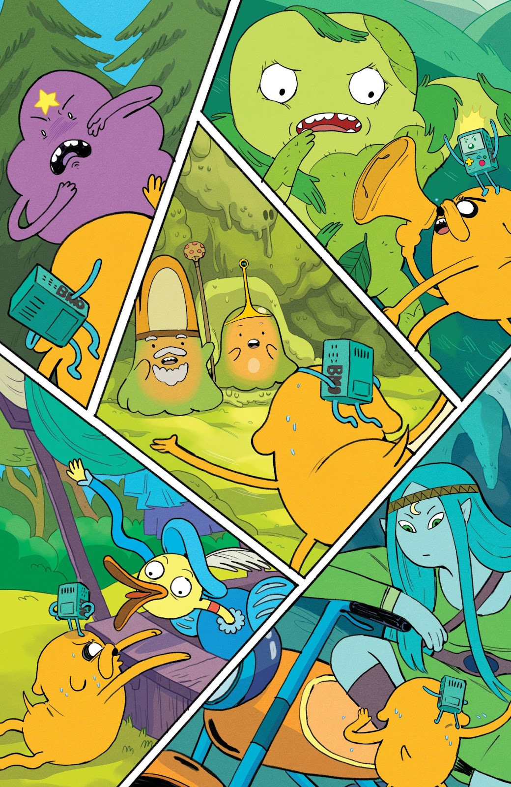 Read online Adventure Time: Beginning of the End comic -  Issue # _TPB - 37