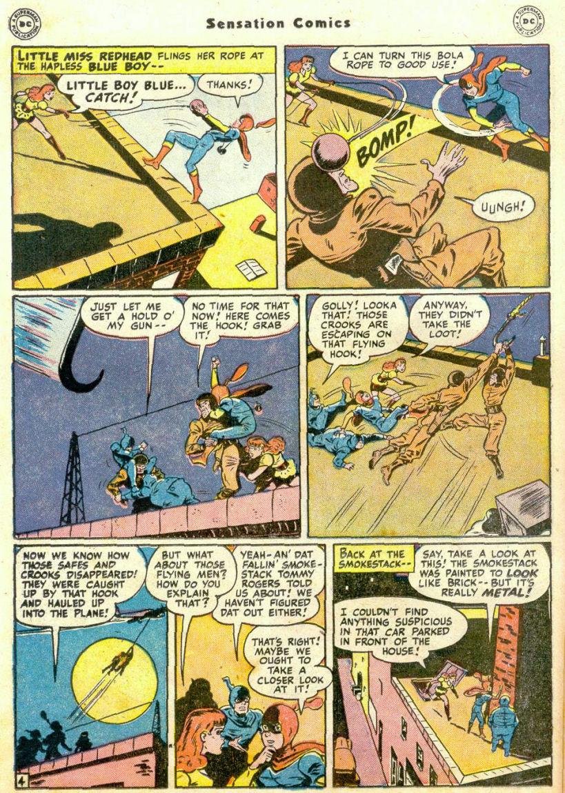 Read online Sensation (Mystery) Comics comic -  Issue #75 - 19