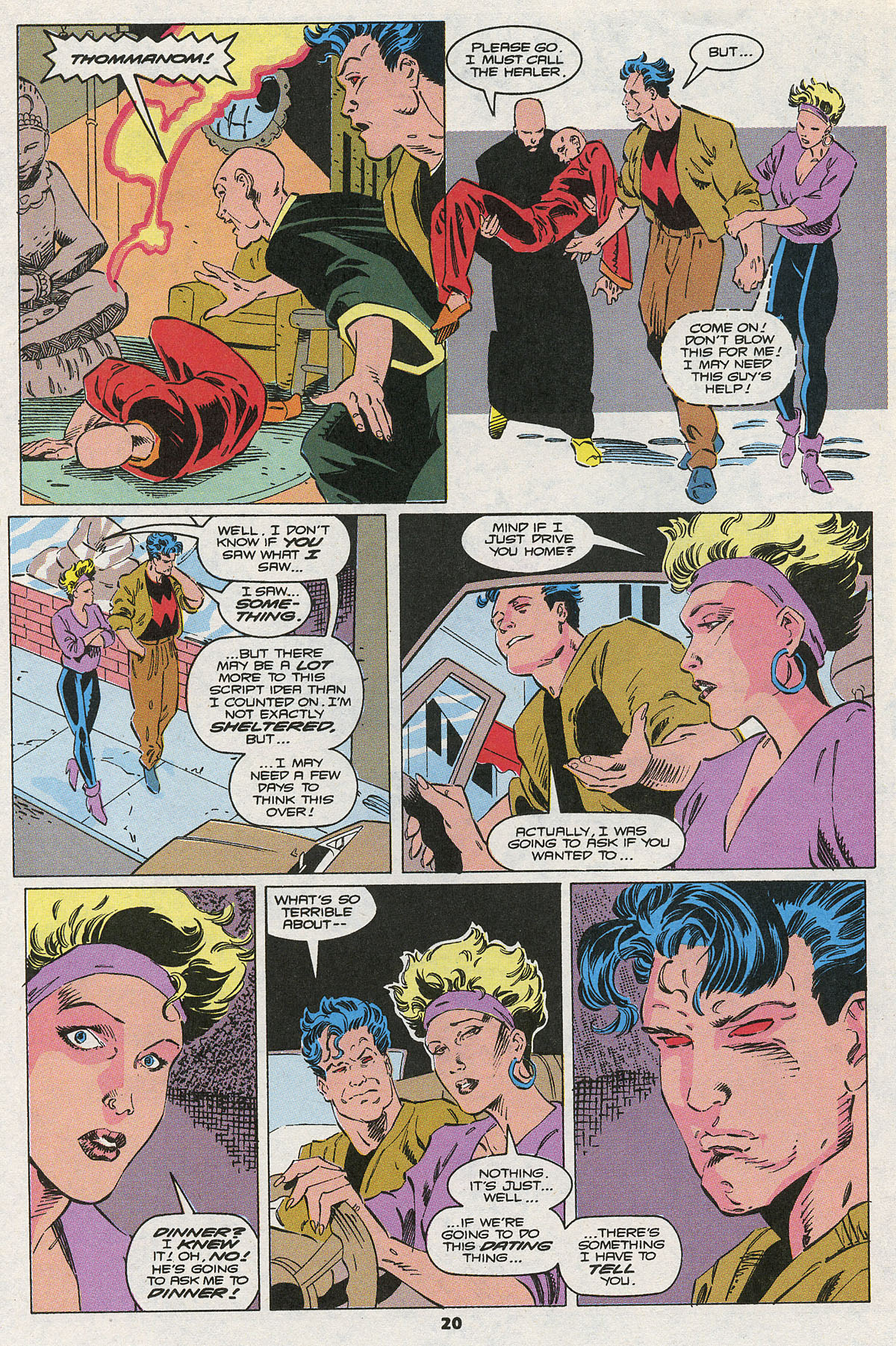 Read online Wonder Man (1991) comic -  Issue #10 - 16