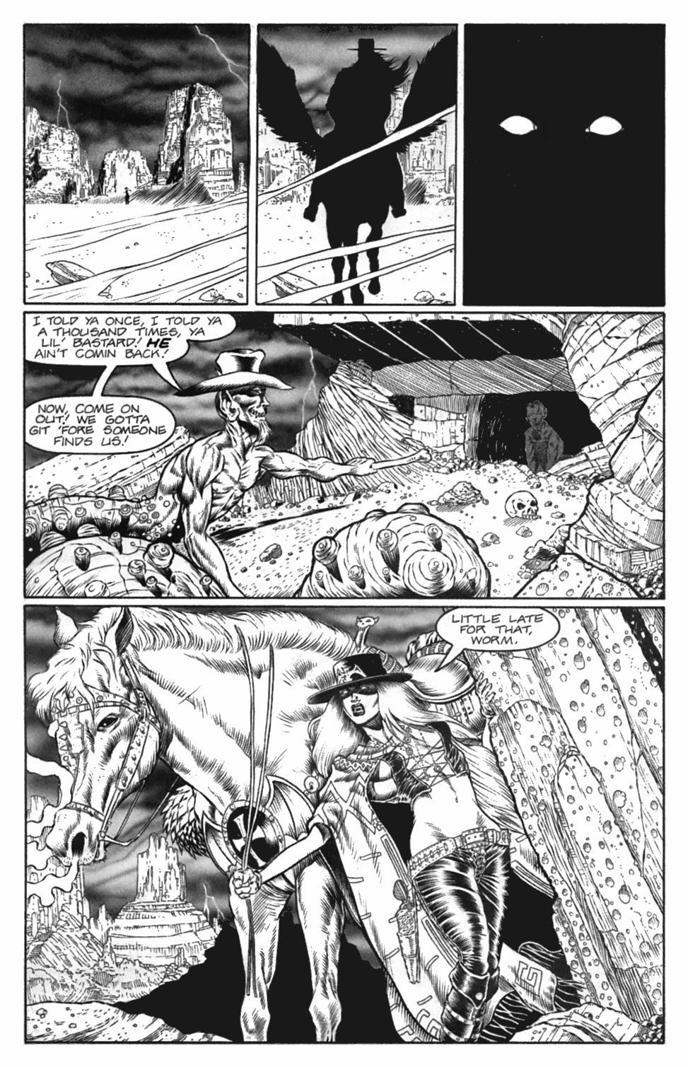 Read online Gunfighters in Hell comic -  Issue #4 - 6
