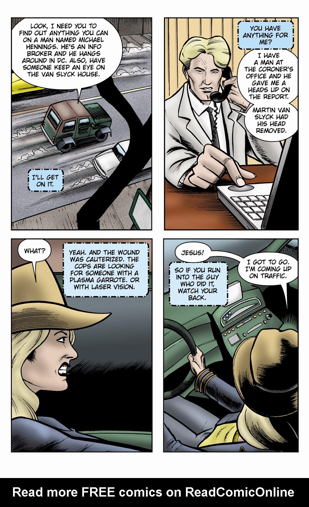 Read online SideChicks comic -  Issue #3 - 17