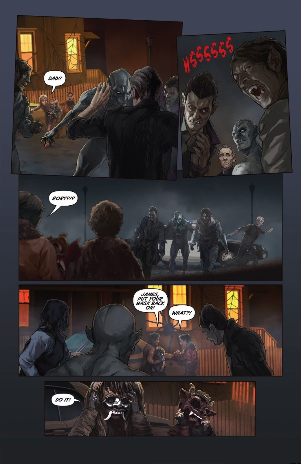 Read online Trick 'r Treat: Days of the Dead comic -  Issue # TPB - 109