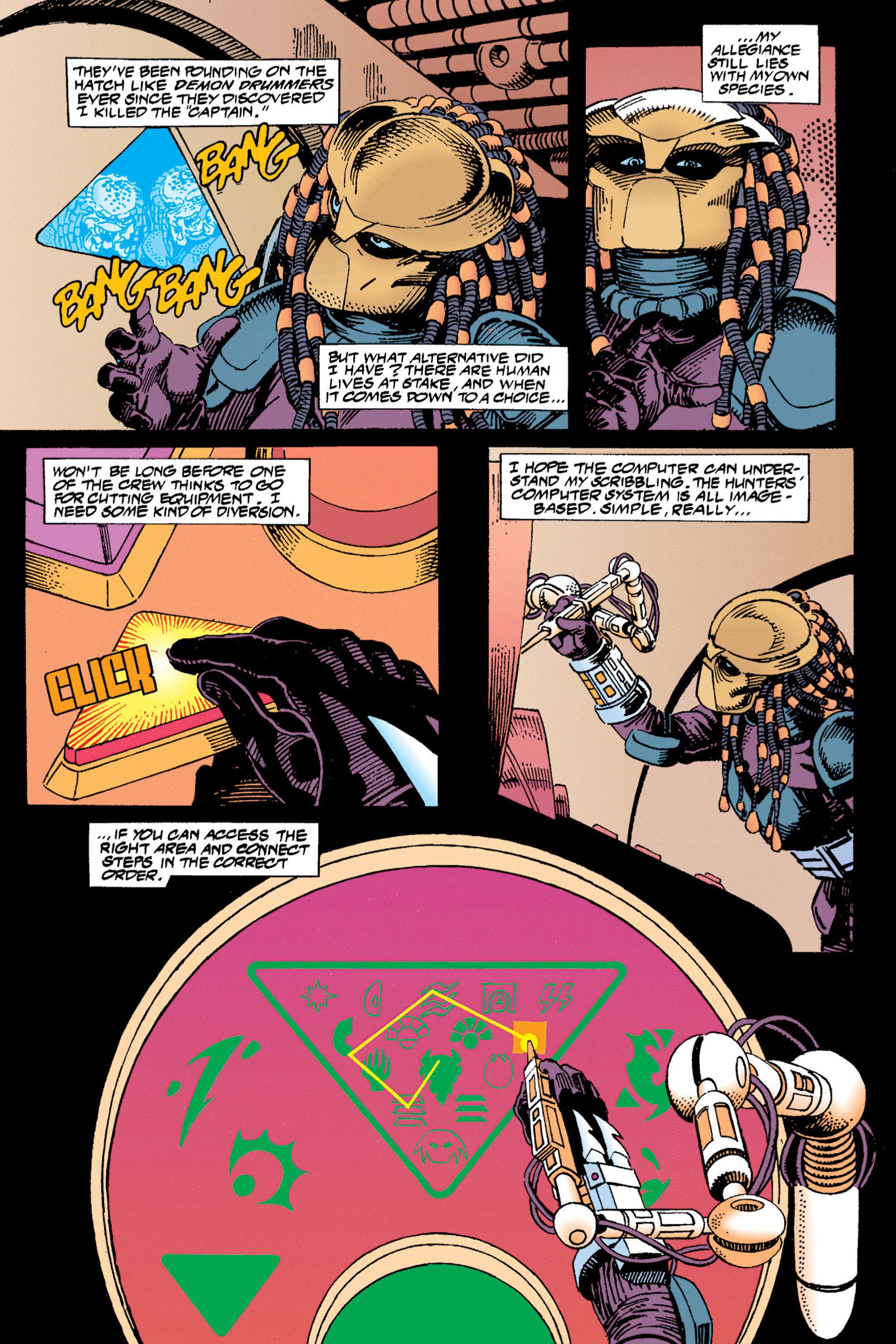 Read online Aliens vs. Predator Omnibus comic -  Issue # _TPB 1 Part 3 - 90
