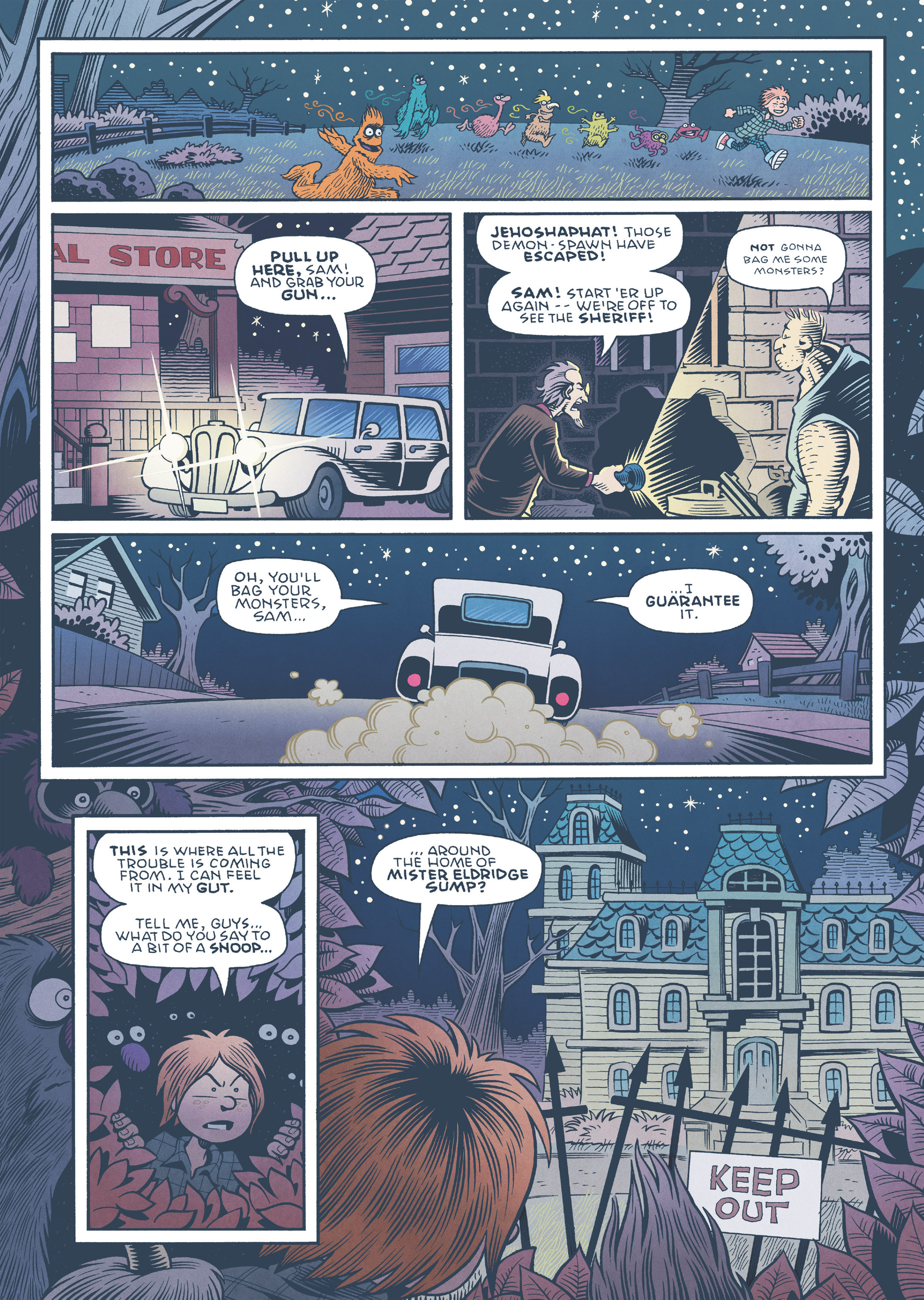 Read online Jim Henson's The Musical Monsters of Turkey Hollow comic -  Issue # Full - 65
